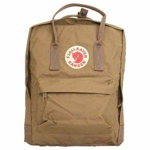 NWOT Fjallraven Kanken Brown Rucksack Backpack